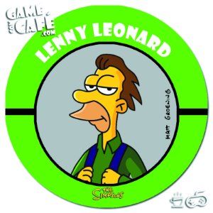 Porta-Copo Retro dos Simpsons S103 Lenny Leonard