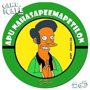 Porta-Copo Retro dos Simpsons S106 Apu Nahasapeemapetilon