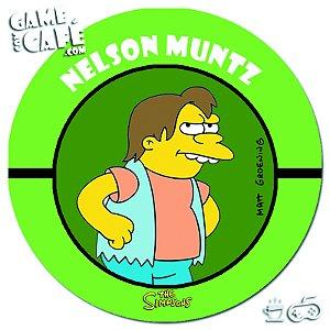 Porta-Copo Retro dos Simpsons S109 Nelson Muntz
