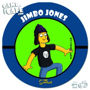 Porta-Copo Retro dos Simpsons S110 Jimbo Jones