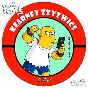 Porta-Copo Retro dos Simpsons S111 Kearney Zzyzwics