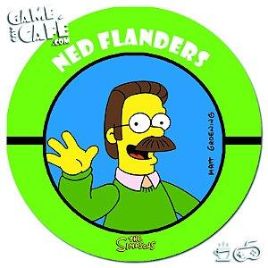 Porta-Copo Retro dos Simpsons S113 Ned Flanders
