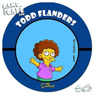 Porta-Copo Retro dos Simpsons S115 Todd Flanders