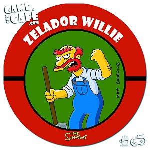 Porta-Copo Retro dos Simpsons S120 Zelador Willie