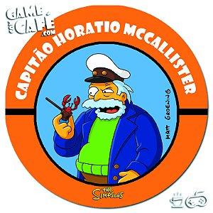 Porta-Copo Retro dos Simpsons S139 Capitão Horatio McCallister