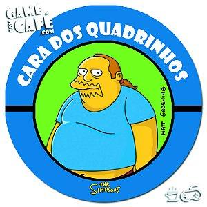 Porta-Copo Retro dos Simpsons S140 Cara dos Quadrinhos