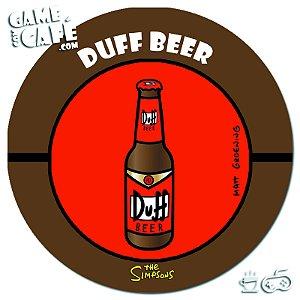 Porta-Copo Retro dos Simpsons S145 Duff Beer