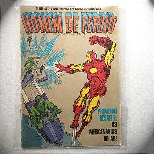 Homem de Ferro - N1 - Os Mercenários do Ar - 1991