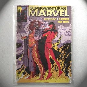 Super Aventuras Marvel - N115 - 1992