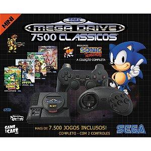 MINI Mega Drive Retro 7500 Jogos