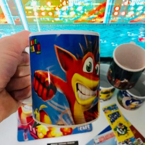 Caneca do Crash Bandicoot