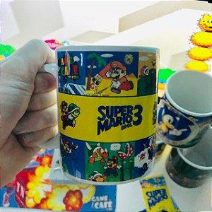 Caneca Super Mario Bros 3