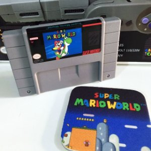 Cartucho Super Mario World