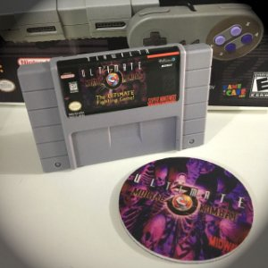 Cartucho Ultimate Mortal Kombat 3