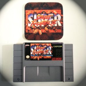Cartucho Super Street Fighter II