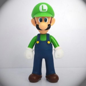 Action Figure Luigi - Super Mario World