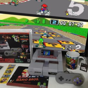 Super Nintendo Retro 10.000