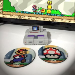 Mini Super Nintendo Decorativo