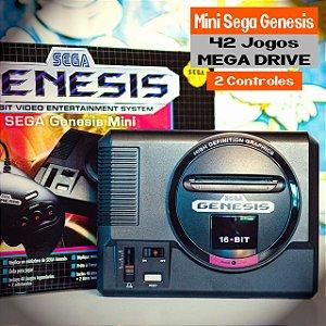 Mini SEGA Genesis 42 Jogos Mega Drive