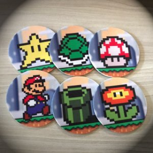 Porta-copos Super Mario World