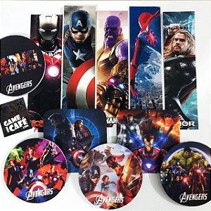 Porta-copos Vingadores - Avengers