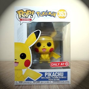 Funko Pikachu Pop! Games