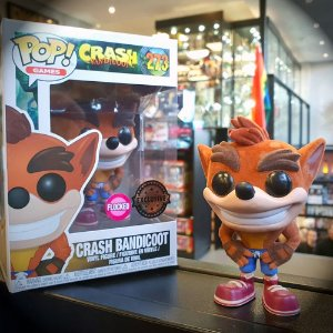Funko Crash Bandicoot Pop! Games