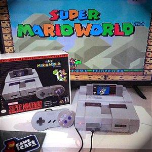 Super Nintendo + Super Mario World
