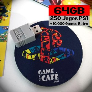 Jogos Playstation Classic 64GB