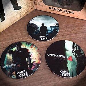 Porta-copos Uncharted 4