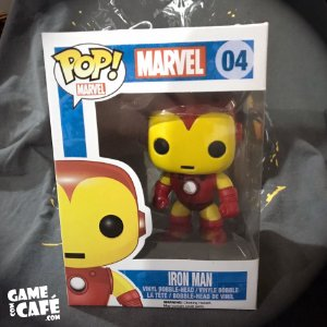 Funko Pop! Marvel Iron Man - Home de Ferro