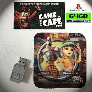 120 Jogos PSP para o Playstation Classic
