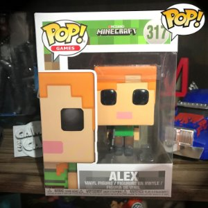 Funko Pop! Games - ALEX - Minecraft