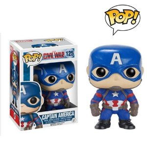 Funko Capitão América Pop! Civil War