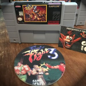 Cartucho SNES Final Fight 3