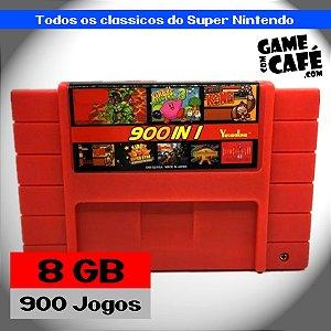 Cartucho 900 Jogos em 1