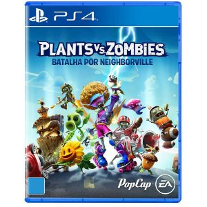 Plants VS Zombies - PS4 - Batalha por Neighborville