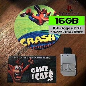 Jogos Playstation Classic 16GB
