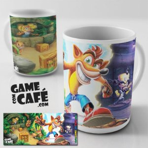 Caneca Crash Bandicoot Top
