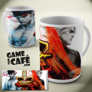 Caneca Street Fighter V