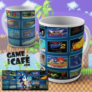 Caneca Sonic Games