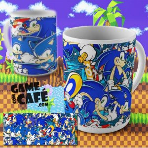 Caneca Sonic Invaders
