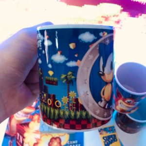 Caneca Sonic Rings