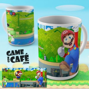Caneca Super Mario Top