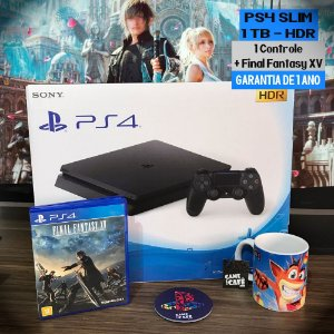 Playstation 4 Slim 1TB + Final Fantasy XV