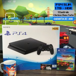 Playstation 4 Slim 1TB + Horizon Chase Turbo