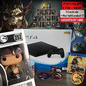 Playstation 4 Slim 1TB + KIT Mortal Kombat