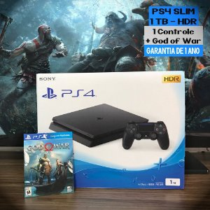 Playstation 4 Slim 1TB + God of War