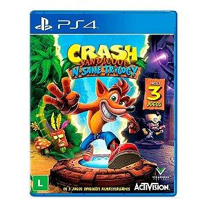 Crash Bandicoot - Trilogia Remasterizada - PS4