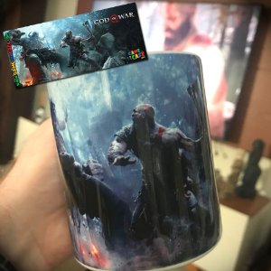 Caneca God of War 4